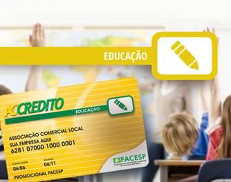 Cartão Educação ACCredito