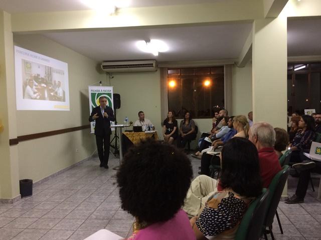 O presidente da ACIAR, Daniel Muniz, durante o lançamento oficial da campanha