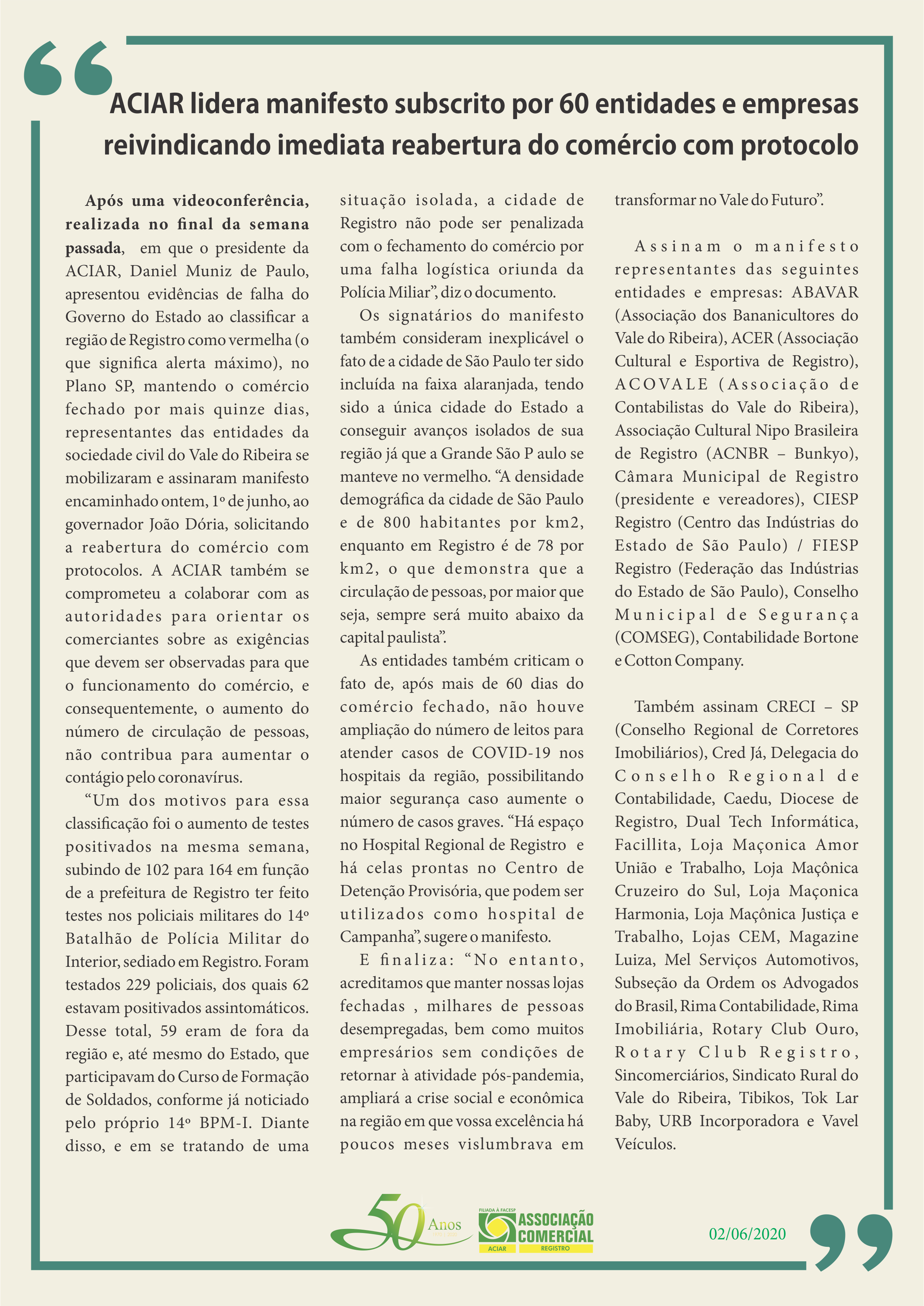 Manifesto - ACIAR